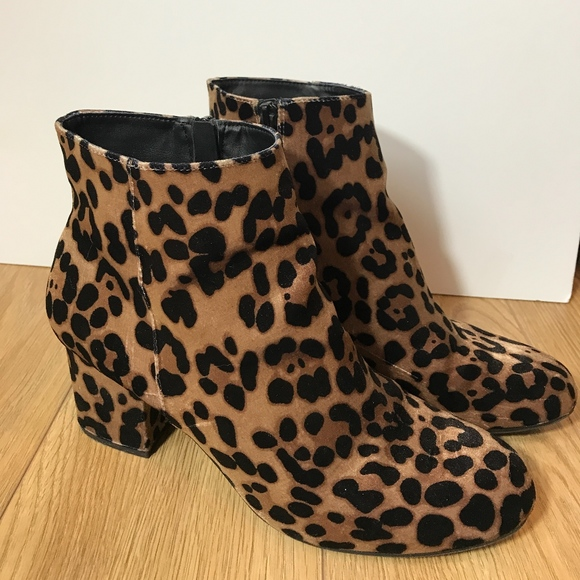 023a32146d84 A New Day Shoes | Leopard Print Booties | Poshmark